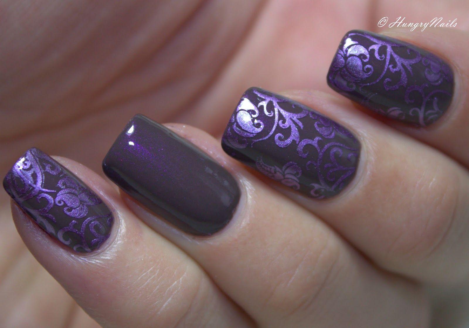 Bildergebnis für nägel mauve | Lila | Pinterest
