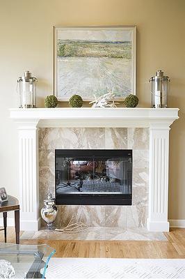 tips for decorating fireplace mantles design inspiration rh pinterest com