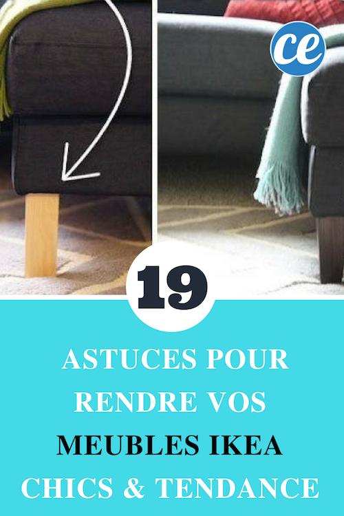 19 Astuces Pour Rendre Vos Meubles Ikea Chics Tendance Meubles Ikea Mobilier De Salon Ikea