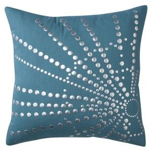 Threshold™ Pillow with Silver Detail
