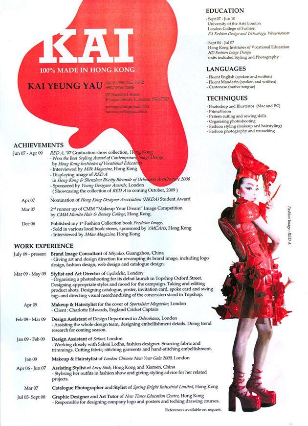creative fashion resume professional resume templates