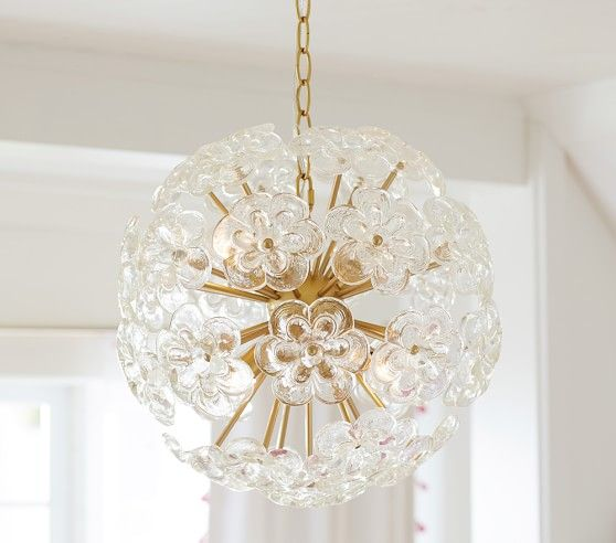 flower pop chandelier | dressing room | pinterest | pottery barn