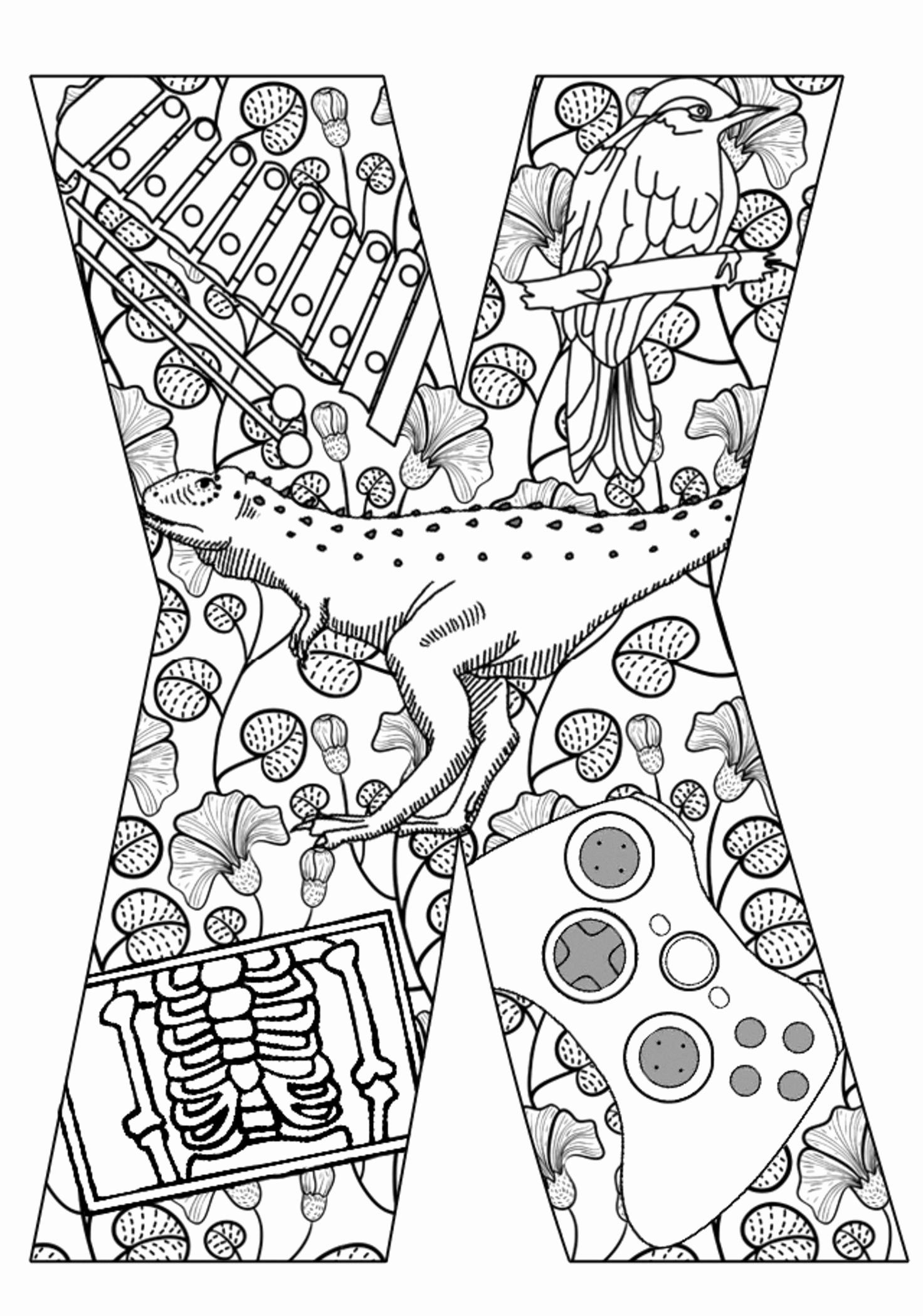Coloring Games For Adults Online In 2020 Alphabet Coloring Pages Letter A Coloring Pages
