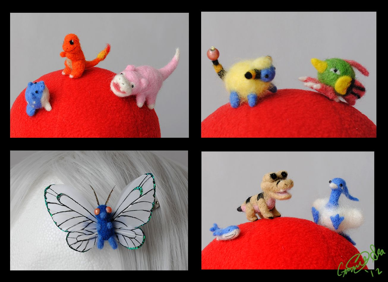 Pokemon Felties by Eyes5.deviantart.com on @DeviantArt