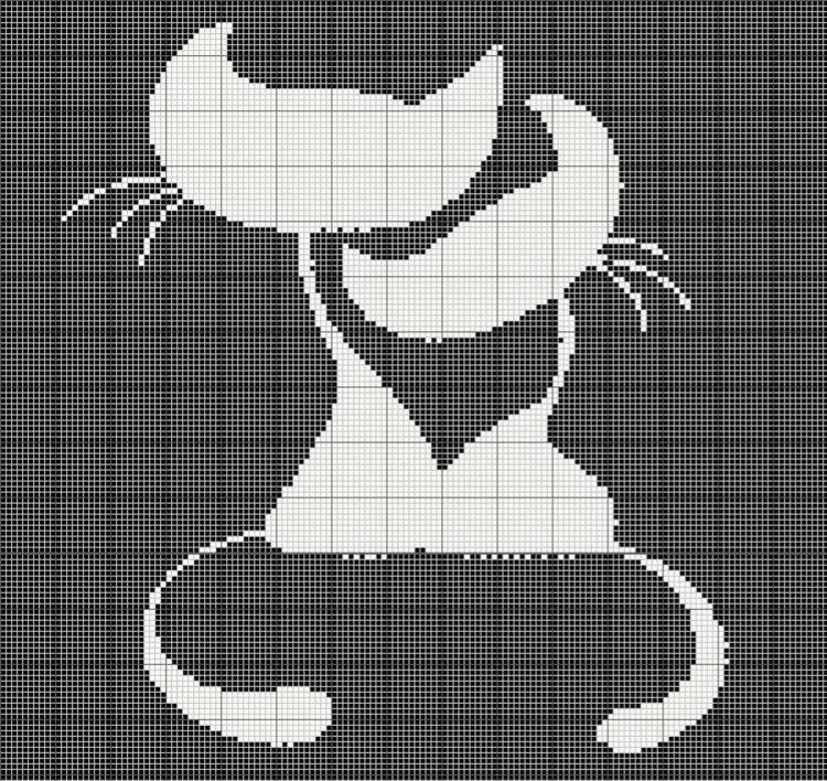 только черно-белые картинки для вязания терон выдержала начала