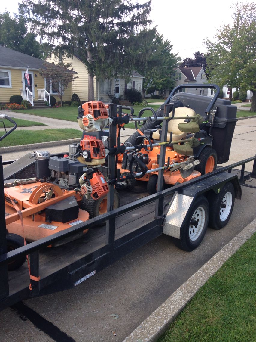Pin By Robert On Falkis Lawn Maintenance Lawn Care Lawn Equipment Landscape Trailers