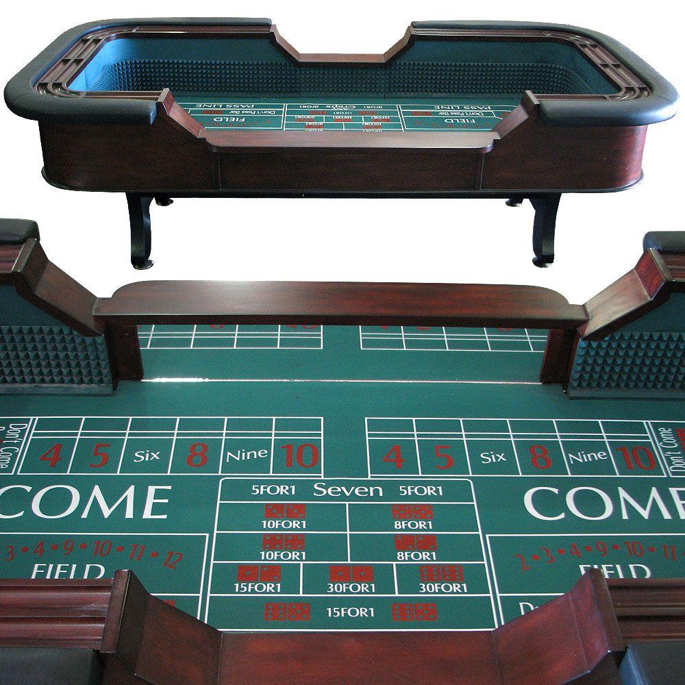 Furniture Factory Outlet Las Vegas: Craps Table As Trophy Board