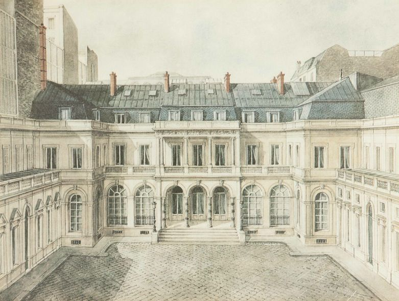 Facade De L Hotel Du 19 Rue Laffitte Londres Demolished