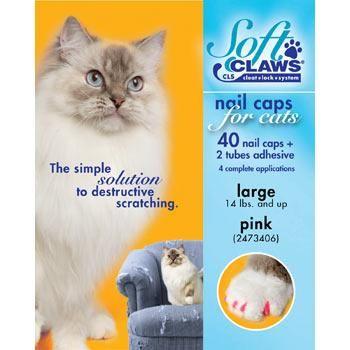 Soft Claws Pink Cat Nail Caps At Petco Cat Nail Caps Soft Claws Nail Caps
