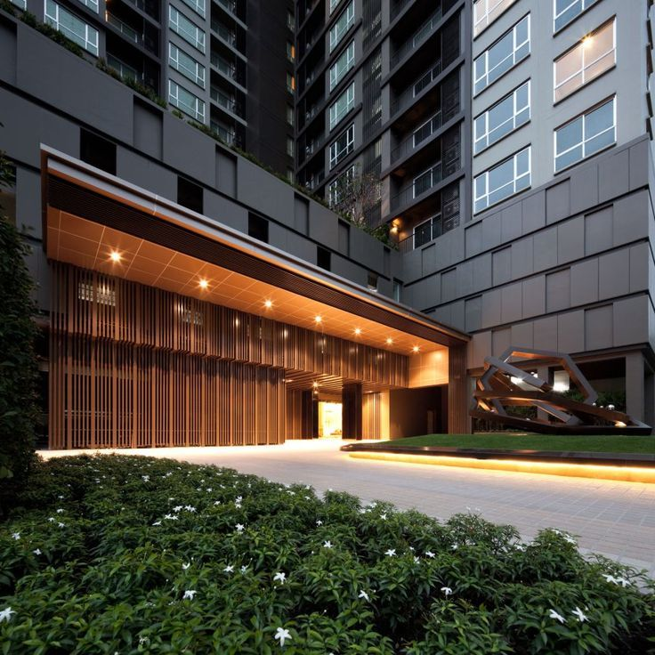 Luxury Apartment Building Entrance: Image Result For Drop Off Lighting