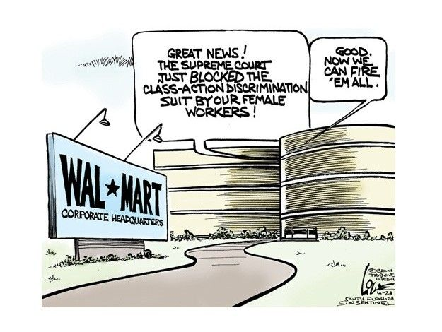 Celebrating Walmart Style Political Cartoons Political