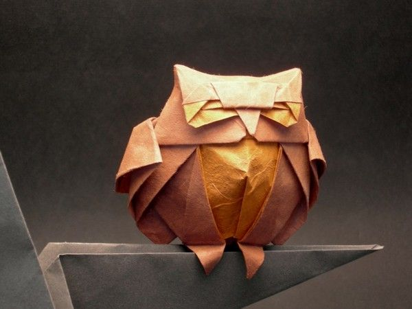 DOWNLOADABLE INSTRUCTIONS Origami Night Owl