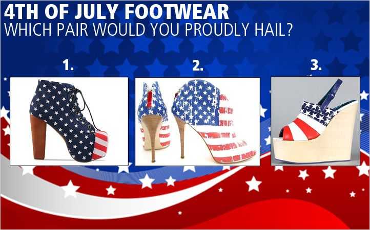 4th of July footwear
