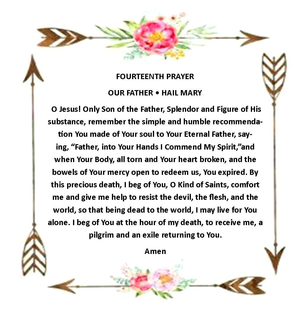 Pin By On The Secret Of Happiness 15 Prayers