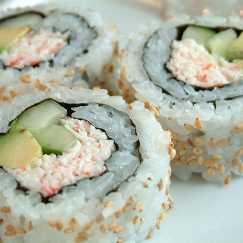 California Crab Rolls (Sushi) | Recipe | Crab rolls, Easy and Food
