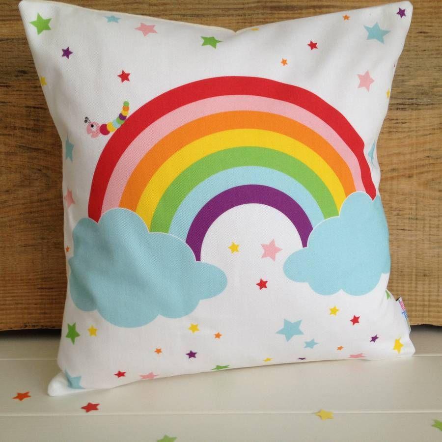 New Baby And Childrenu0027s Rainbow Cushion