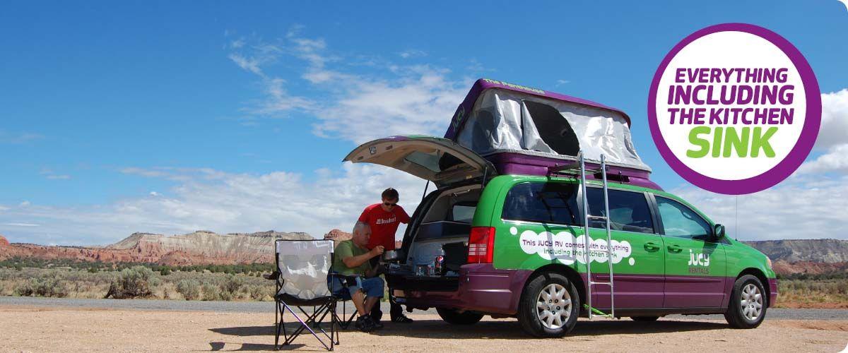 Jucy Home Jucy Rentals Mini Rv Rental Specialists Rv Rental Car Rental Camping World Locations