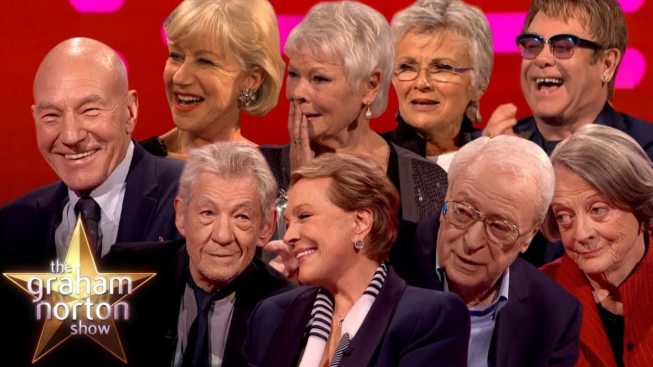 The Best Of Sirs Dames On The Graham Norton Show Part Two Youtube In 2020 Norton Show Comedy Tv Old Movies