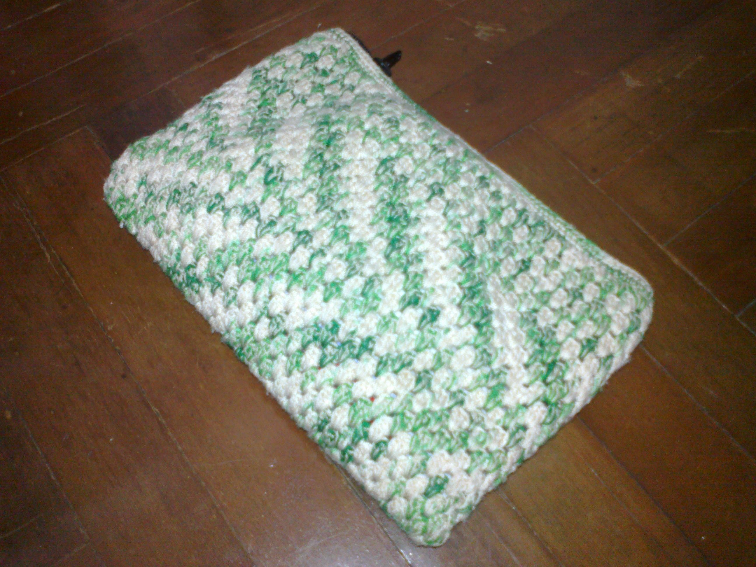Crochet Cosmetic Bag : cosmetic bag