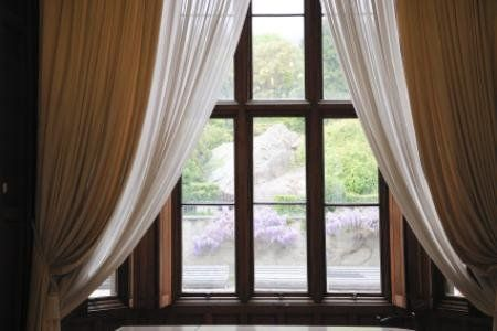 How To Install Double Curtain Rods Double Rod Curtains Double