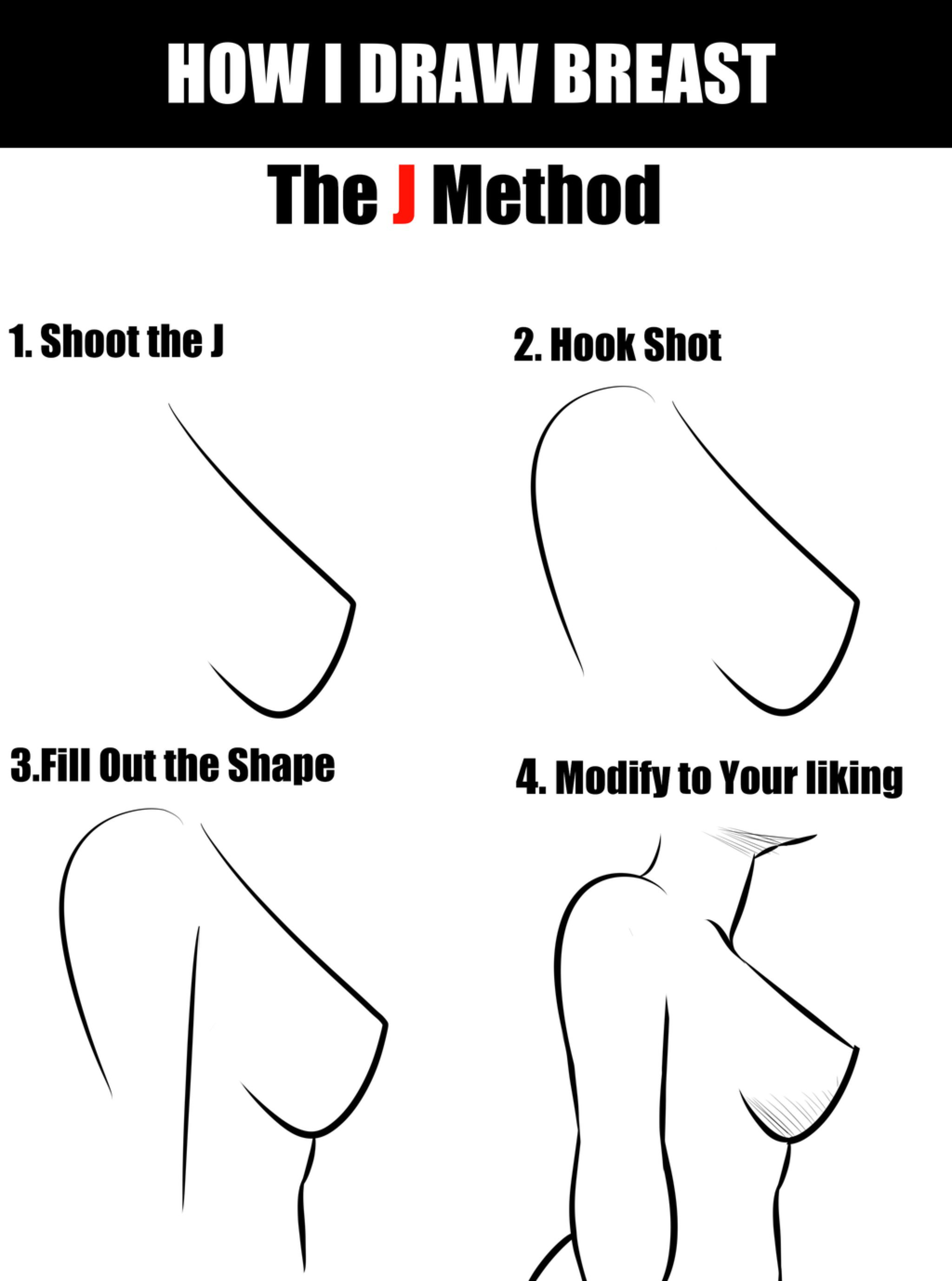 How to draw boobs videos — photo 12