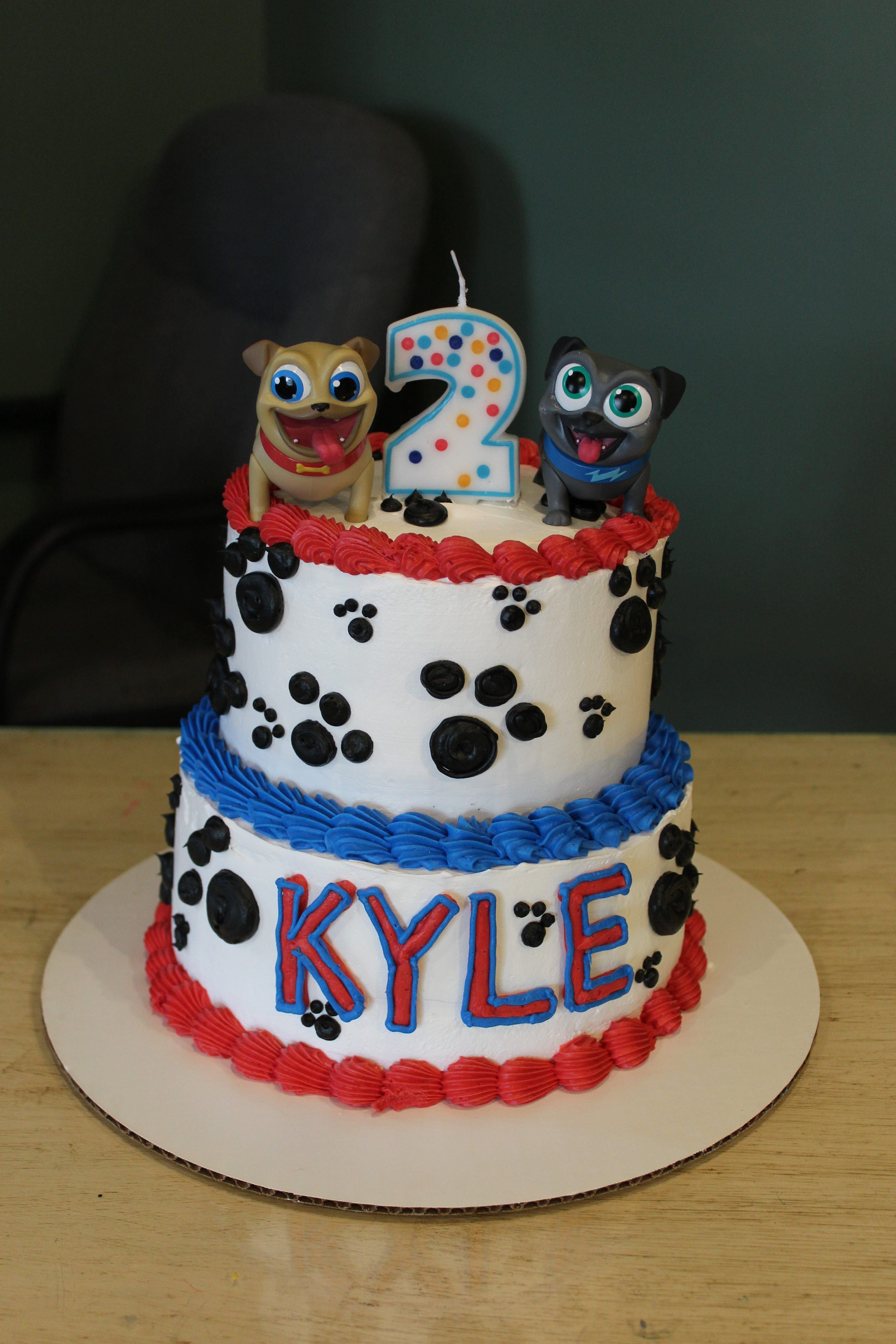Puppy Dog Pals Puppy Birthday Parties Puppy Birthday 1st Boy