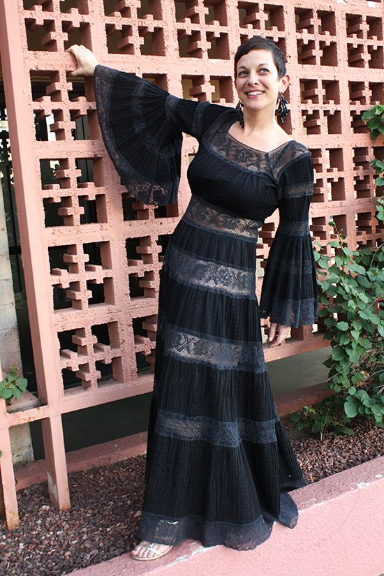 Black Lace Mexican Wedding Dress On Chicks Who Give A Hoot