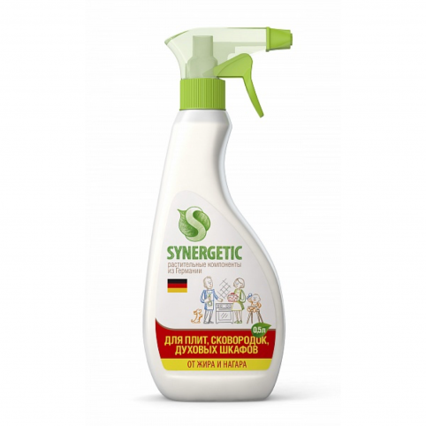Натуральное моющее средство для кухонных плит «Synergetic» 0,5л (триггер) - Каталог - RFCosmetics.ru