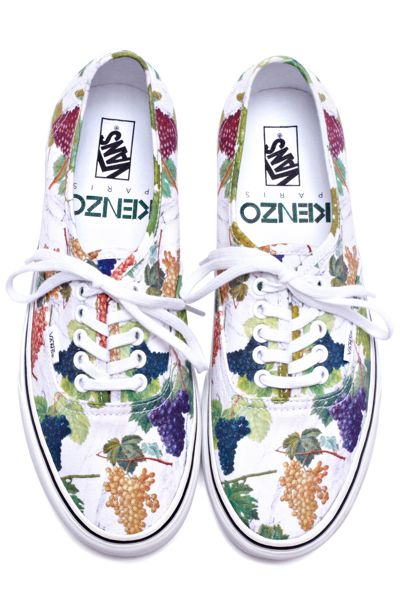 e128d2c43f Kenzo x Vans at Opening Ceremony. GRAPES!