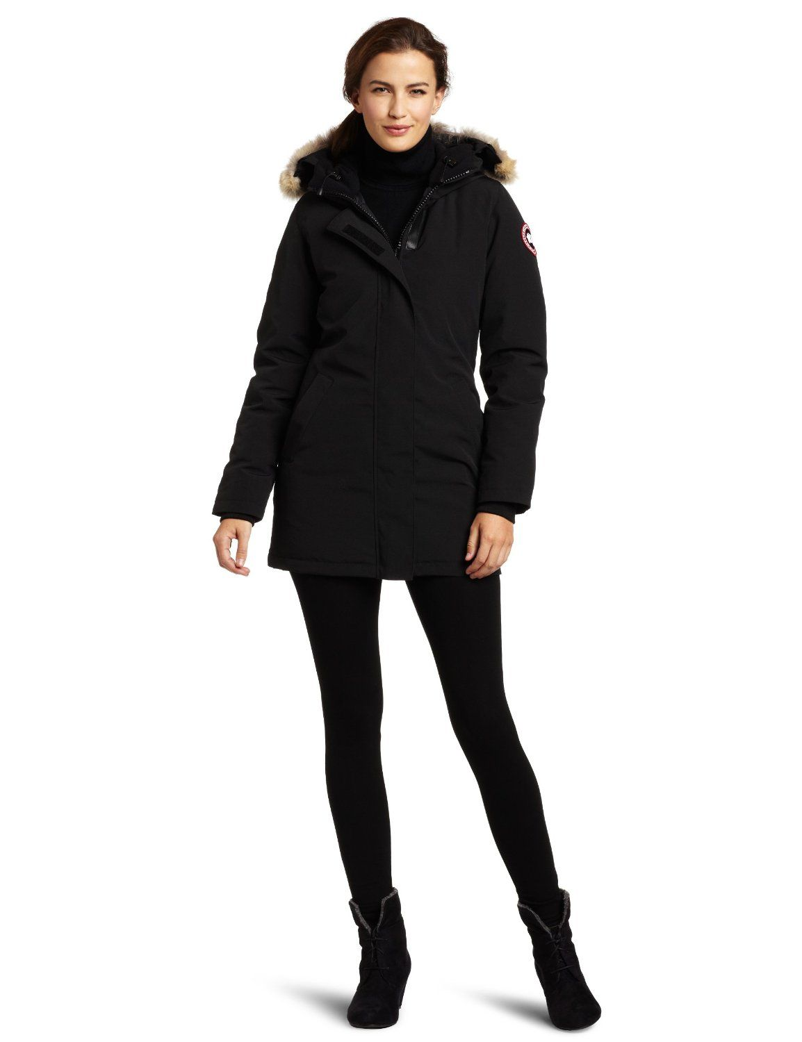 Canada Goose Women's Victoria Parka: Sports & Outdoors | Style ...
