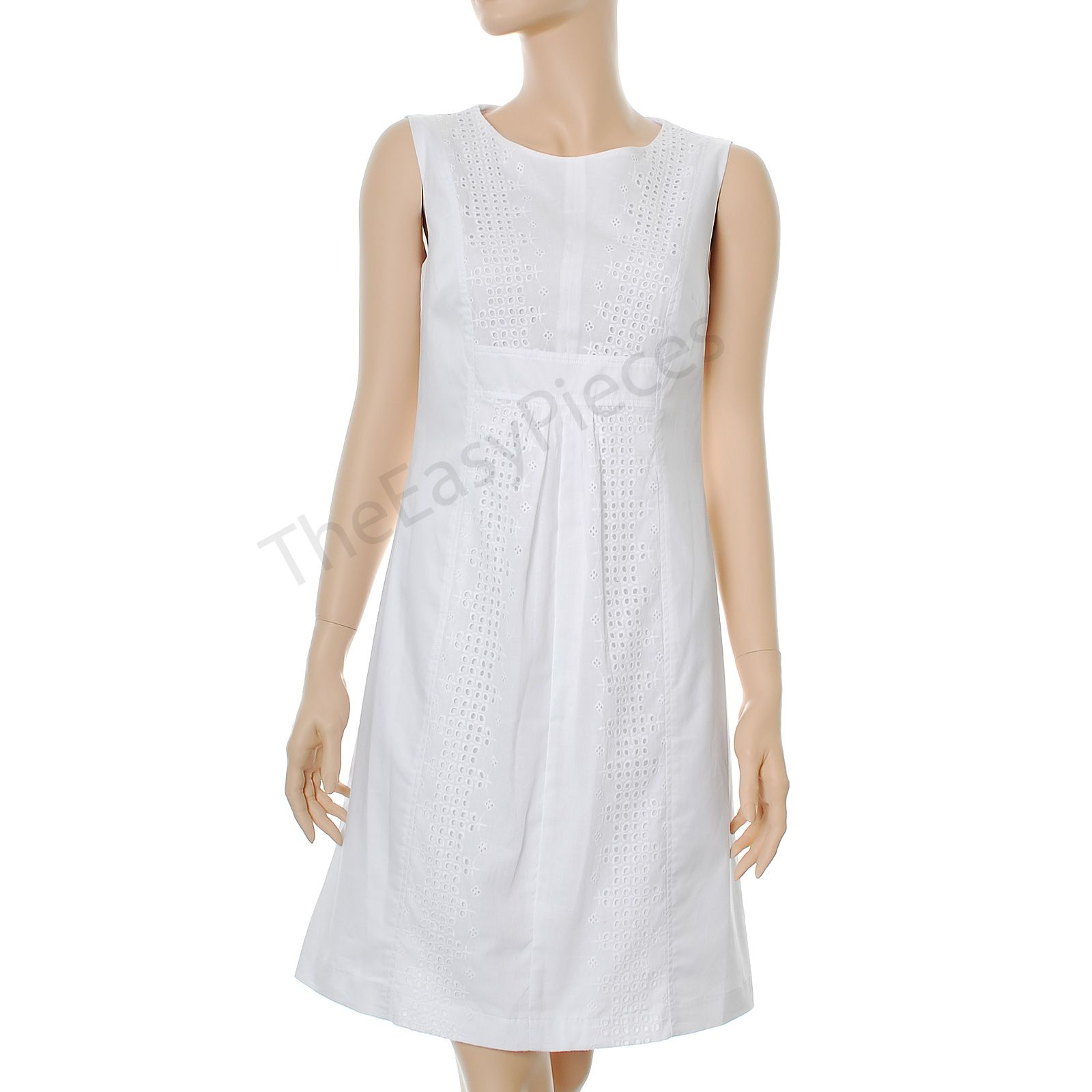 Cotton White Dress