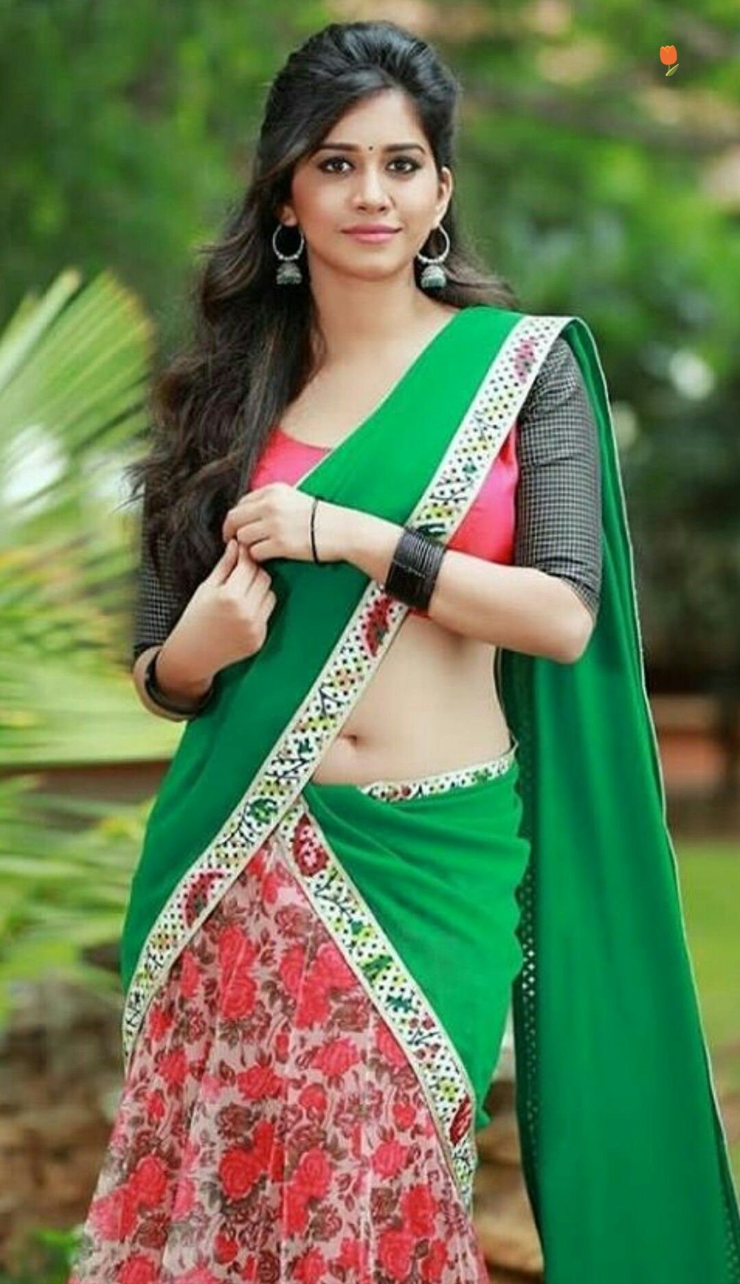 hot girl indian pin by mohan babu on mallu t navel saree and india 2322