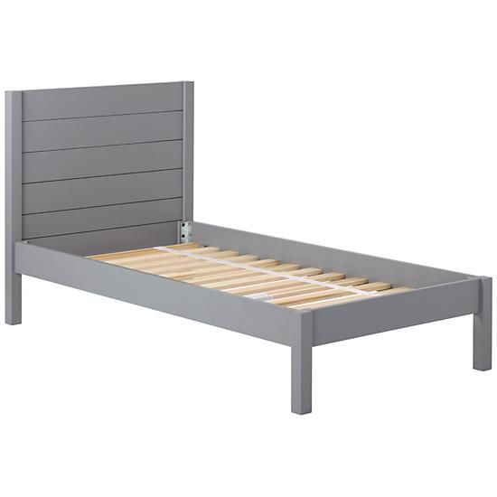 Twin Bed Frames For Boys twin uptown bed (grey) | twins, bedrooms and room