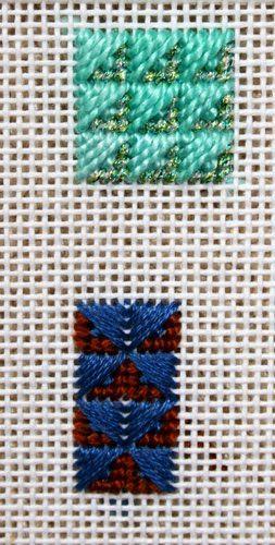 Rittenhouse Needlepoint Stitch Of The Week Arrowhead Needlepoint