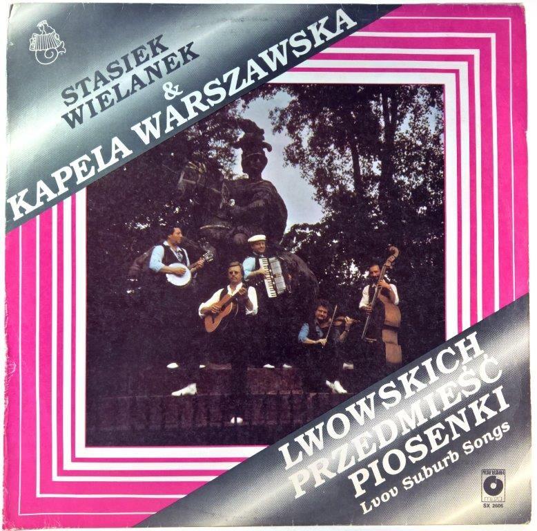 Stasiek Wielanek I Kapela Warszawska Lwowskich Przedmiesc Piosenki Songs Book Cover Books