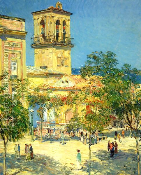 Frederick Childe Hassam:Street of the Great Captain, Cordoba