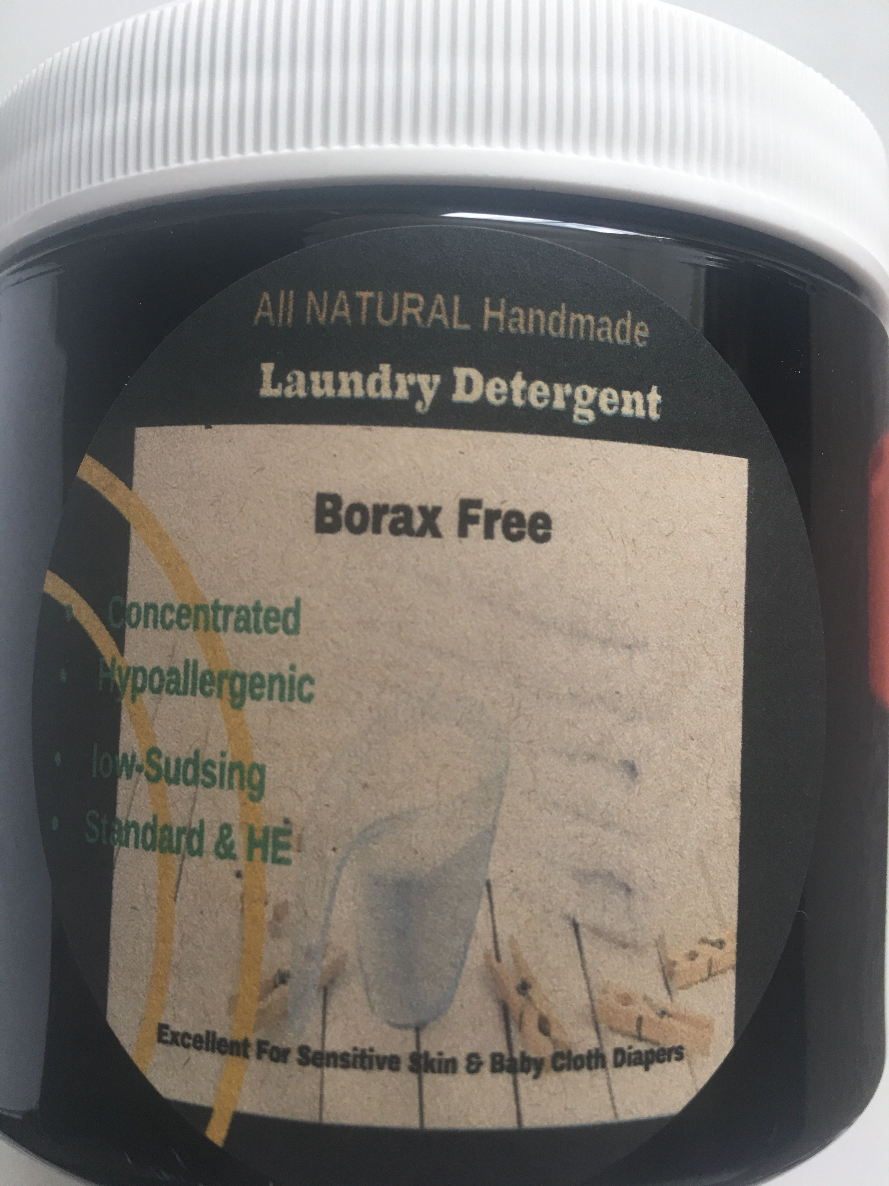 Laundry Detergent All Natural Handmade Non Toxic Concentrated