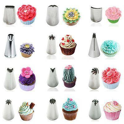 Zuckerguss-Rohrdüsen aus Edelstahl Kuchen Cupcake Dekorationstipps Backwerkzeuge   Ebay,  #aus #Backwerkzeuge #Cupcake #Dekorationstipps #eBay #Edelstahl #Kuchen #ZuckergussRohrdüsen
