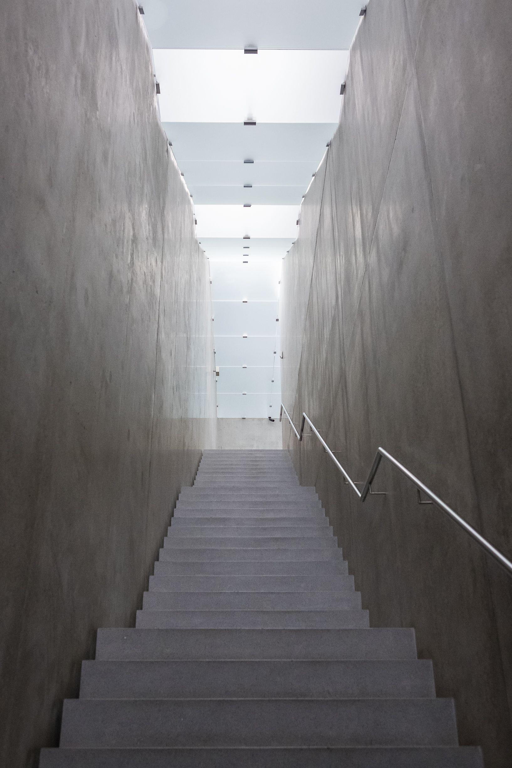 Lichtdecke Treppe - Kunsthaus Bregenz - Peter Zumthor | 351 Treppen ...