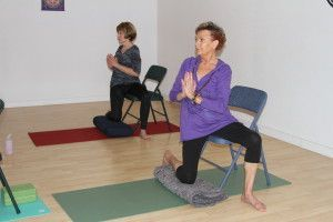 healing chair yoga hips  anjali yoga room  chair yoga