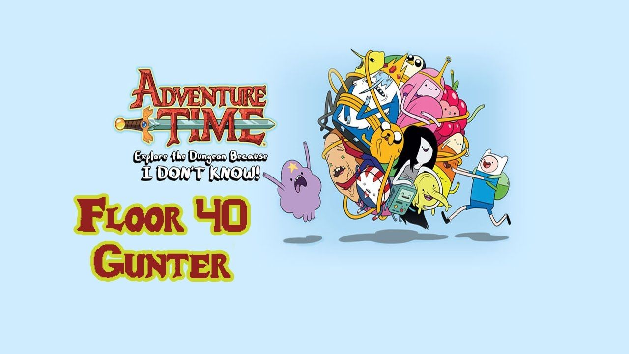 Oh my Glob! Epic Gunter Boss fight in Adventure Time: Explore the Dungeon Because I DON'T KNOW! Out on PS3, Xbox. Releasing on 20th December on Nintendo Systems!