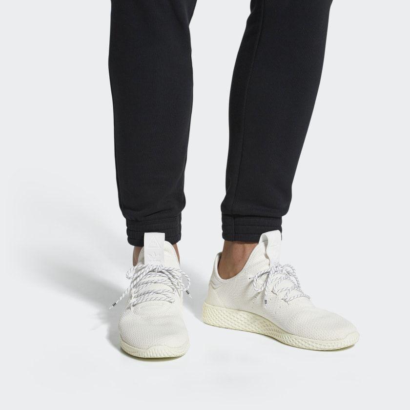 Pharrell Williams Hu Holi Tennis Hu Bc Shoes Cream White Cream White Cloud White Da9613 Adidas Pharrell Williams Sneakers Mens Casual Shoes