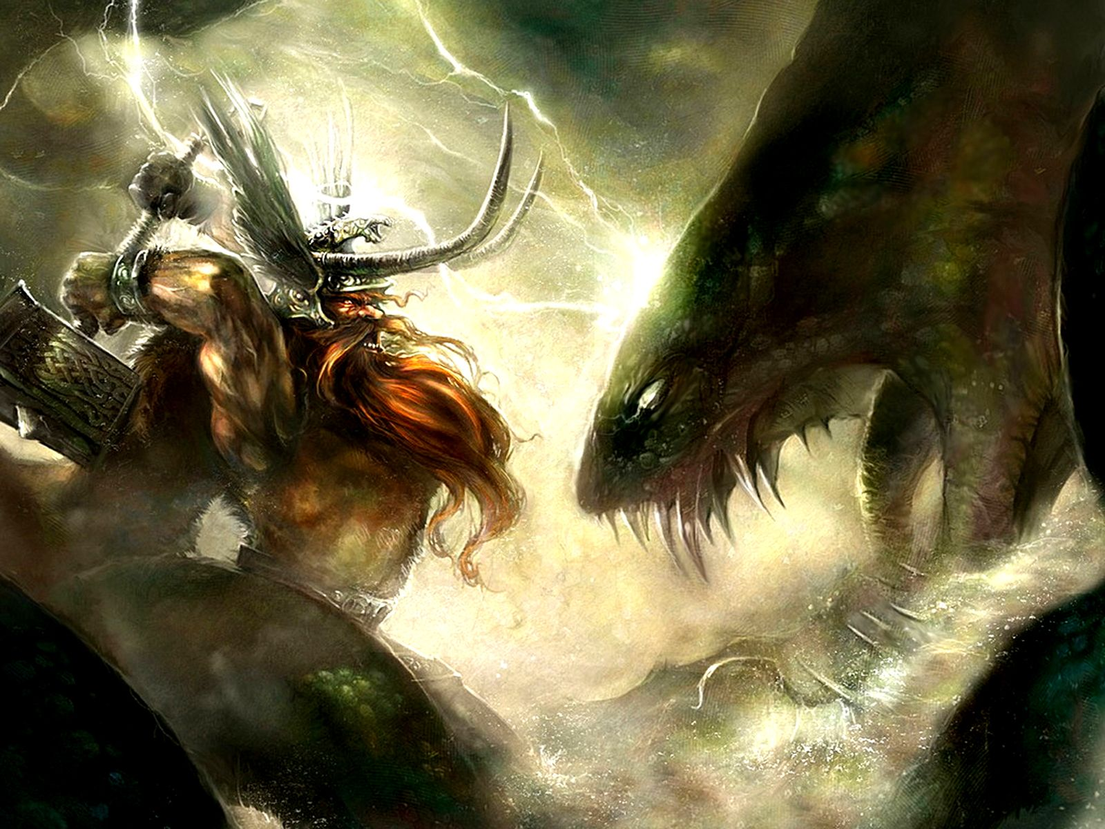 Fantasy Gods Wallpaper Norse Mythology Norse Mythology