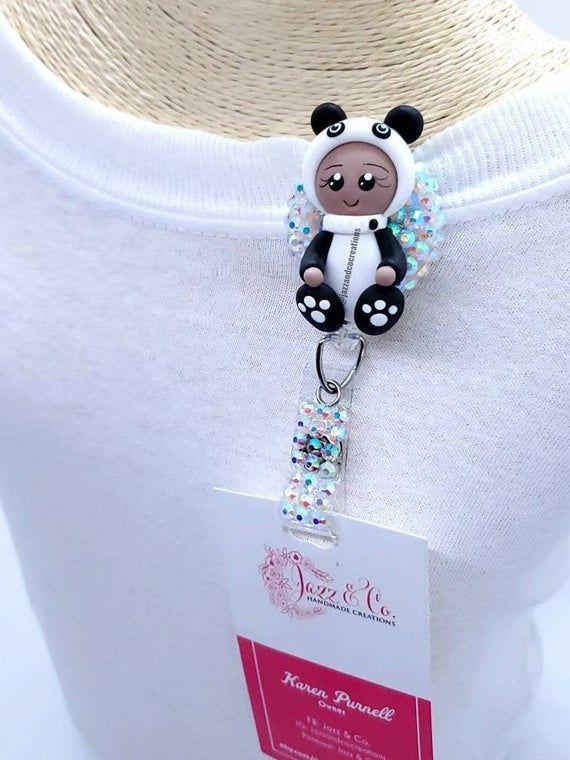 Adorable Baby Panda Badge Reel #babypandas