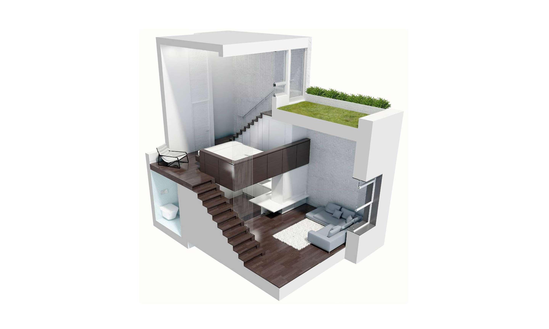 Scott Specht and Louise Harpman idea for micro apartment