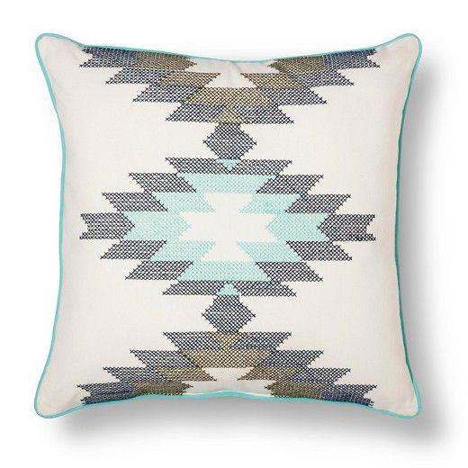Southwest Crossstitch Throw Pillow 40x40 Room Essentials Extraordinary Southwest Decorative Pillows