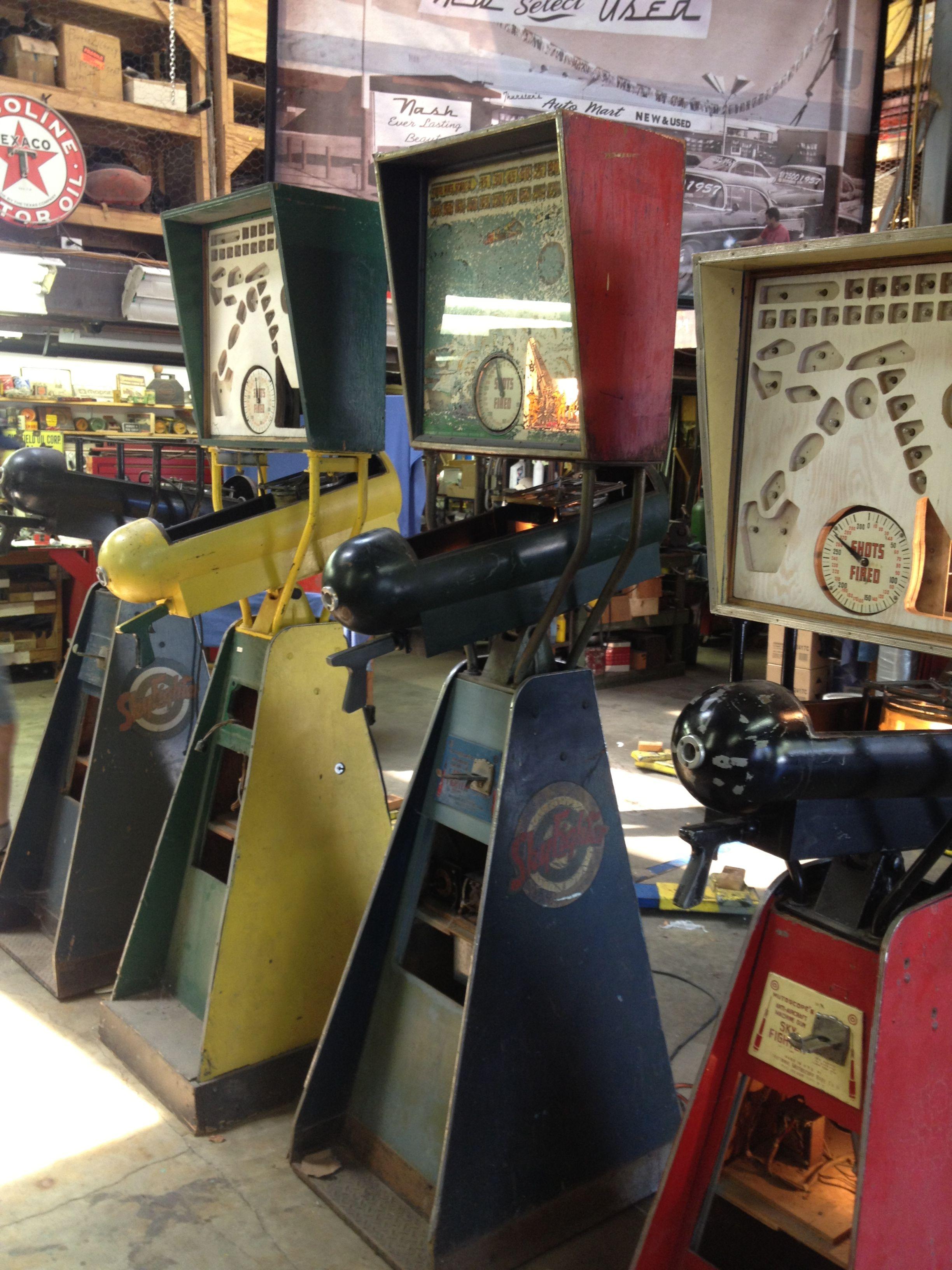 1940's skyfighter machines Arcade, Vending machine, Pinball