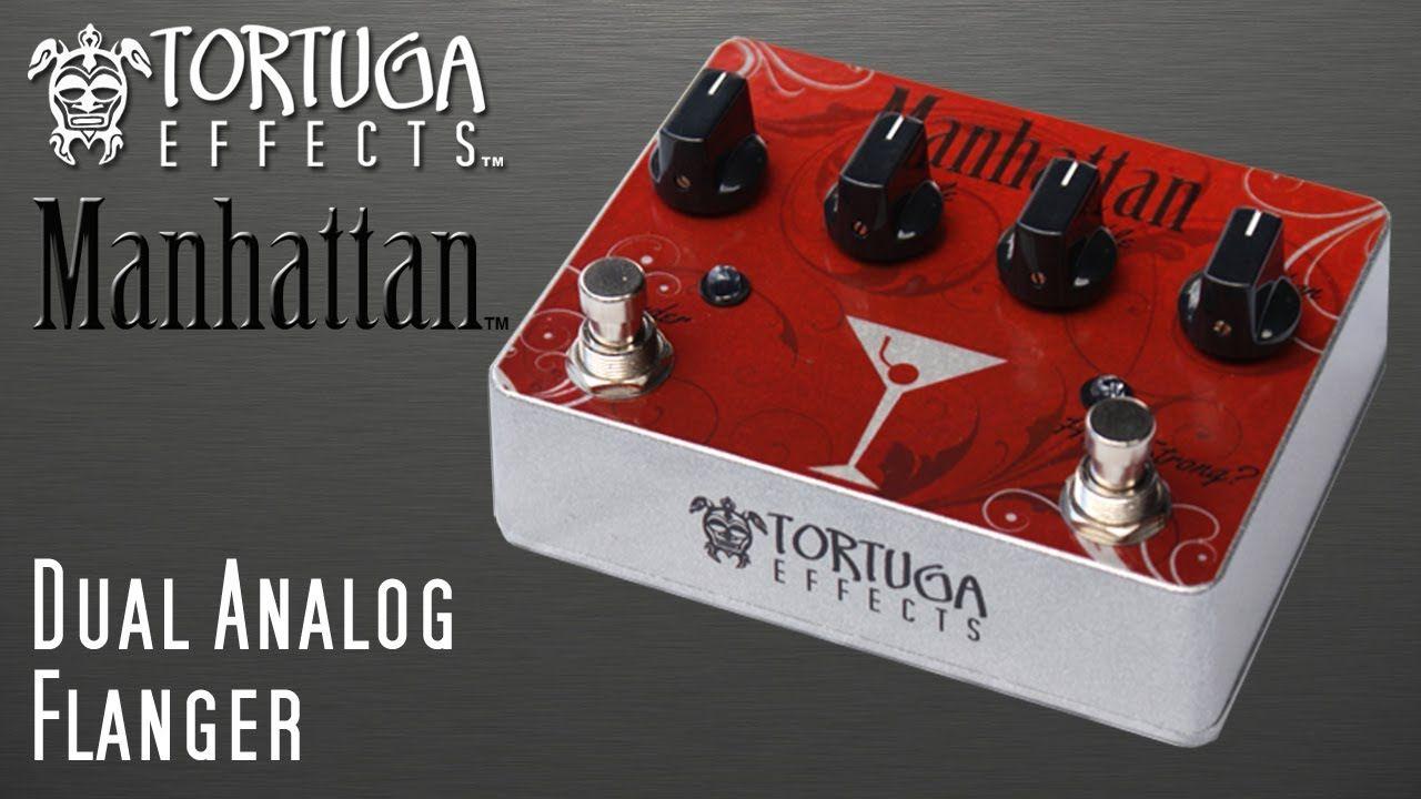 Tortuga Effects: Manhattan Dual Analog Flanger