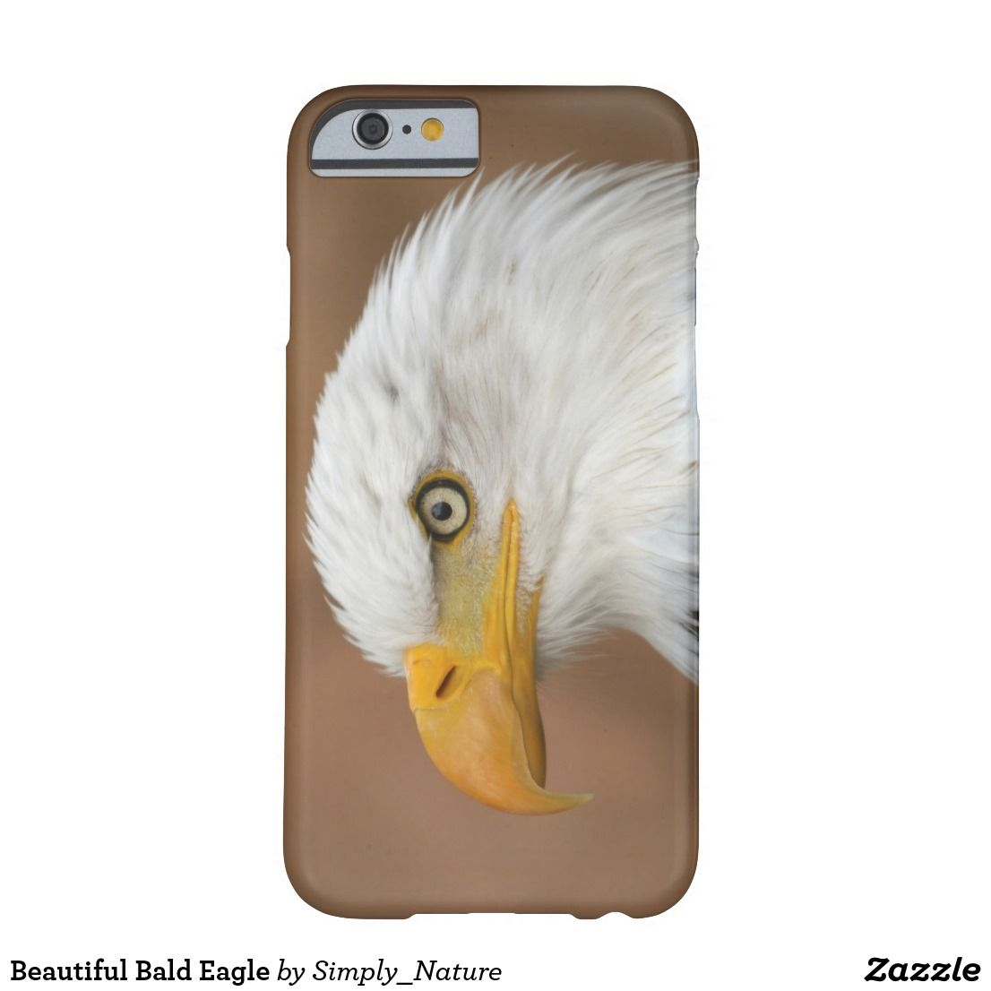Beautiful Bald Eagle Barely There iPhone 6 Case | Electronics ...