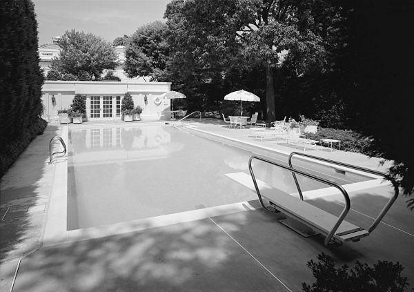 Swimming Pool Swimming Pools White House Washington Dc Luxury Pools